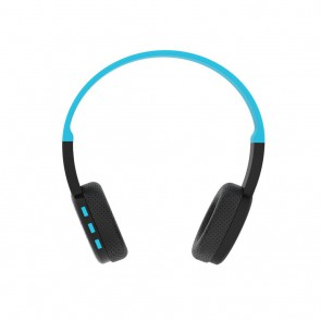 Belaidės ausinės ART Bluetooth Headphones with microphone AP-B05 black/blue