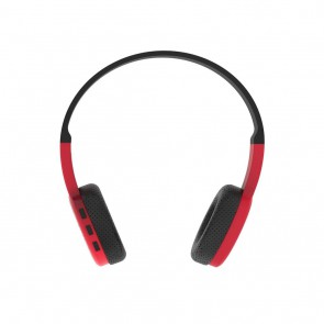 Belaidės ausinės ART Bluetooth Headphones with microphone AP-B05 black/red