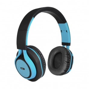 Belaidės ausinės ART Bluetooth Headphones with microphone AP-B04 black/blue