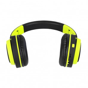 Belaidės ausinės ART Bluetooth Headphones with microphone AP-B04 black/lime