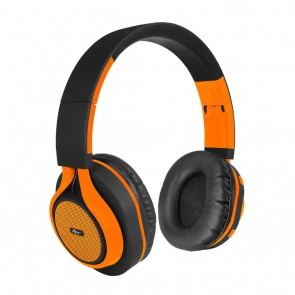Ausinės ART Bluetooth Headphones with microphone AP-B04 black/orange