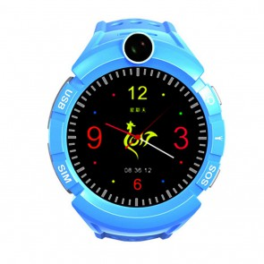 Išmanus laikrodis vaikams su GPS ART Watch Phone Kids with locater GPS/WIFI Blue