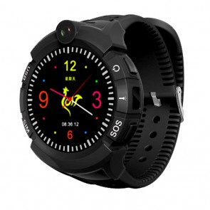 Išmanus laikrodis vaikams su GPS ART Watch Phone Kids with locater GPS/WIFI BLACK