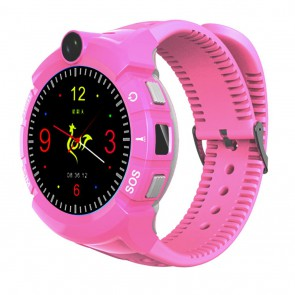 Išmanus laikrodis vaikams su GPS ART Watch Phone Kids with locater GPS/WIFI Pink