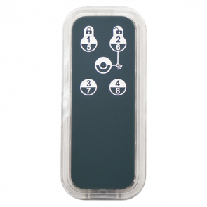 Distancinis pultelis ZIPATO Keyfob 5 Remote Z-Wave Plus